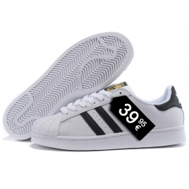 Zapatillas AD Superstar Blanco y Negro