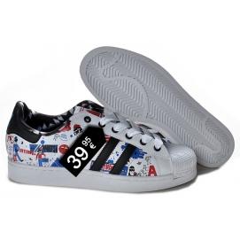 Zapatillas AD Superstar Estampados