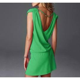 Vestido de Playa Verde