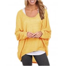 Camisa Amplia - Amarillo