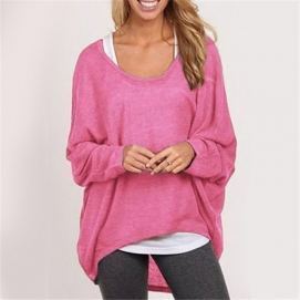 Camisa Amplia - Rosa