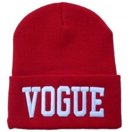 Gorro Vogue Rojo