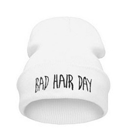 Gorro Bad Hair Day - Blanco