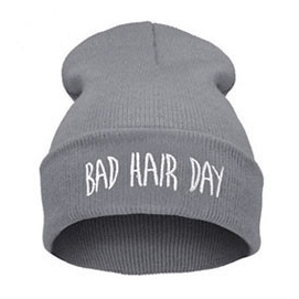 Gorro Bad Hair Day - Gris