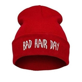 Gorro Bad Hair Day - Rojo