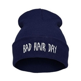 Gorro Bad Hair Day - Azul Marino