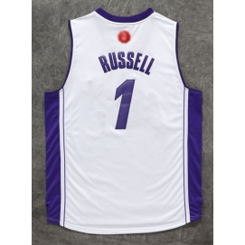 Camiseta Navidad 2015 Los Angeles Lakers Russell