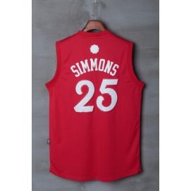 Camiseta Navidad 2016 Philadelphia 76ers Simmons