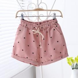Shorts Estampado Gatos -