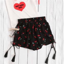 Shorts Cerezas