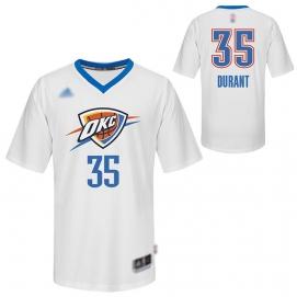 Camiseta Niños Oklahoma City Thunders Durant Mangas Cortas