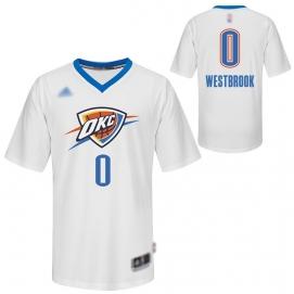Camiseta Niños Oklahoma City Thunders Westbrook Mangas Cortas