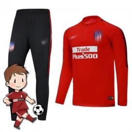 Chándal para Niños NK Atlético Madrid Rojo 2017-2018