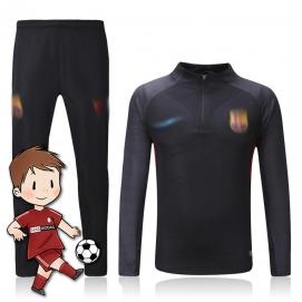 Chándal para Niños NK FC Barcelona Negro 2017-2018