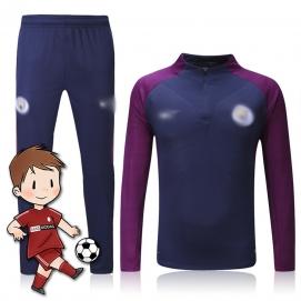 Chándal para Niños NK Manchester City FC Azul y Morado 2017-2018