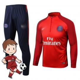 Chándal para Niños NK París Saint-Germain FC Rojo 2017-2018