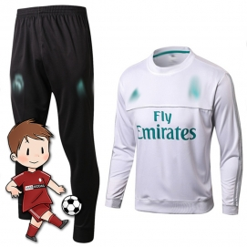 Chándal para Niños AD Real Madrid Blanco 2017-2018