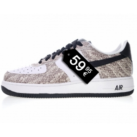 "Zapatillas NK Air Force 1 ""Premiun Snake Cocoa"" (Bajas)"