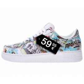 "Zapatillas NK Air Force 1 ""Wings"" (Bajas)"