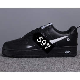 "Zapatillas NK Air Force 1 ""Off-White"" Negro (Bajas)"