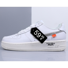 "Zapatillas NK Air Force 1 ""Off-White"" '07 MoMA x Virgil (Bajas)"