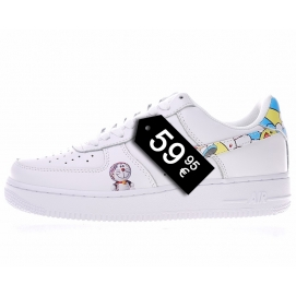 Zapatillas NK Air Force 1 Doraemon (Bajas)