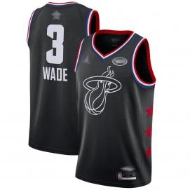 Camiseta NBA All-Star Conferencia Este 2019 Wade (Negro)