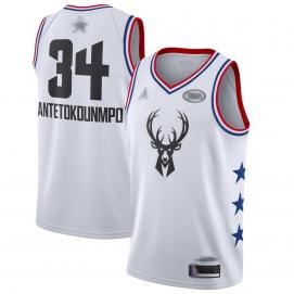 Camiseta NBA All-Star Conferencia Este 2019 Antetokounmpo (Blanco)