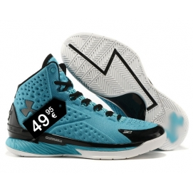 Zapatillas UA Curry One Azul y Negro