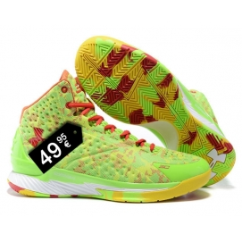 Zapatillas UA Curry One Fantasia Fluor