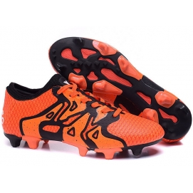 Zapatillas AD X15+ Primeknit FG Naranja