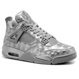 Zapatillas NK Air Jordan 4 Retro 3D Matrix Grey