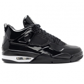 Zapatillas NK Air Jordan 4 11LAB4 Black Patent