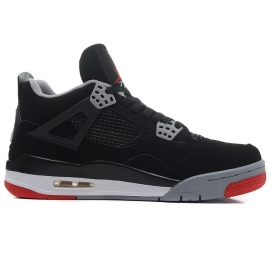 Zapatillas NK Air Jordan 4 Retro Bred 2012 Release