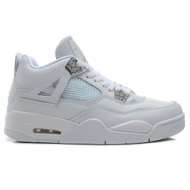 Zapatillas NK Air Jordan 4 Retro Silver 25th Anniversary