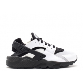 Zapatillas NK Air Huarache Blanco y Negro