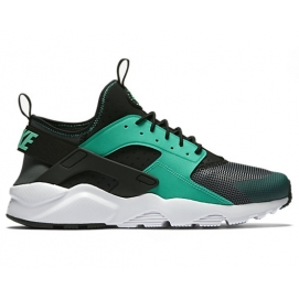 Zapatillas NK Air Huarache Ultra Negro y Verde