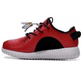 Zapatillas AD Yeezy Boost 350 Taichi Negro y Rojo