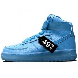 Zapatillas NK Air Force 1 Azul