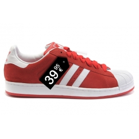 Zapatillas AD Superstar Rojo y Blanco