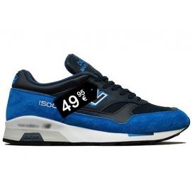 Zapatillas NB 1500 Azul y Negro