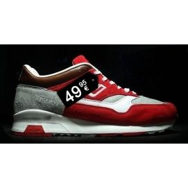 Zapatillas NB 1500 Blanco y Rojo