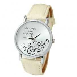 Reloj de Pulsera - Crema