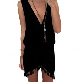 Vestido de Playa Negro