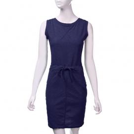 Vestido Casual Azul Marino