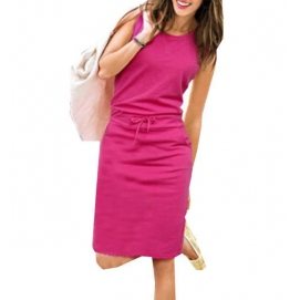 Vestido Casual Rosa