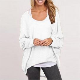 Camisa Amplia - Blanco