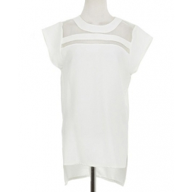 Blusa Transparencias - Blanco