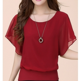 Blusa Amplia - Rojo