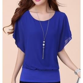 Blusa Amplia - Azul